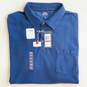 Izod Saltwater XXL Mens Short Sleeve Polo Shirt